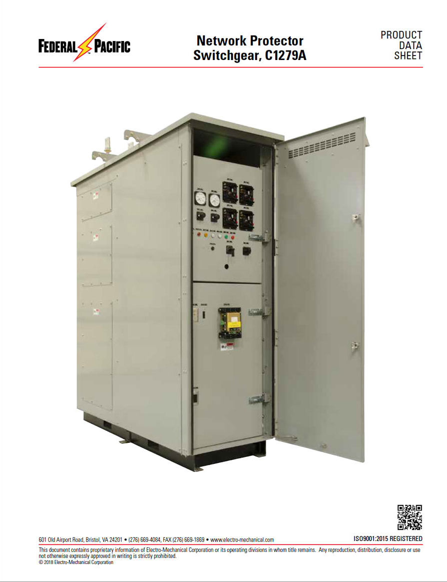 Network Protector Switchgear C1279A