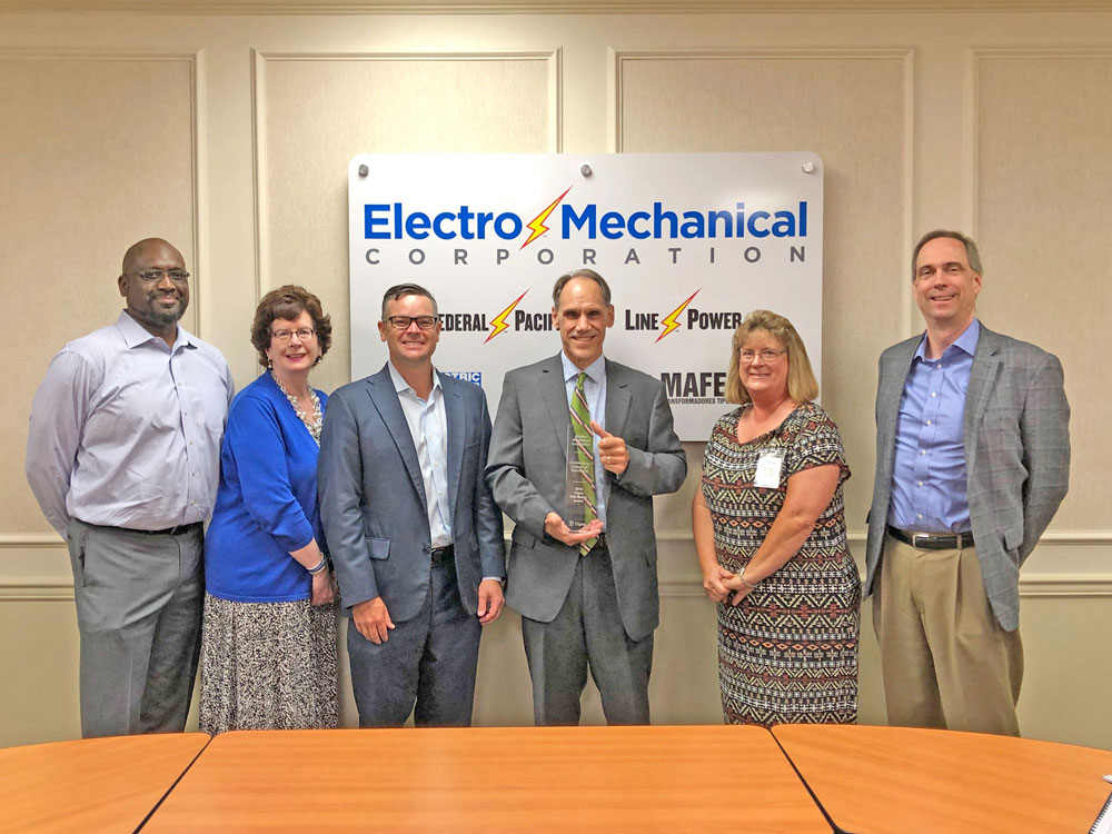 Electro Mechanical Cigna Award