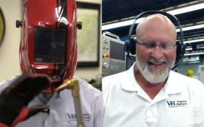 Electro-Mechanical Corp Featured in Virginia Highlands Community College's Welding Facebook Live Event