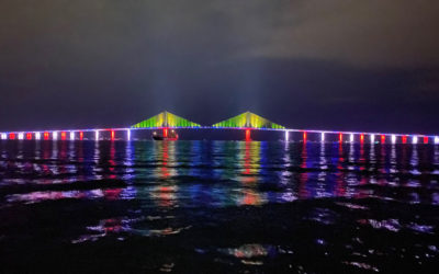 Federal Pacific Lightning Fast Program Helps to Keep the Lights Shining on Florida's Sunshine Skyway Bridge