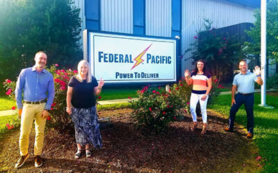 Electro-Mechanical Corporation Welcomes Agents West to  Esteemed Roster of Federal Pacific Manufacturing Representatives